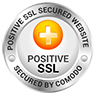 This site is secured by Comodo Positive SSL using TLS