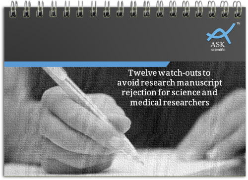 12 watch-outs to avoid research manuscript rejection